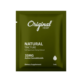 Single Serving | Natural Tincture 33mg