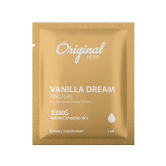 Single Serving | Vanilla Dream Tincture