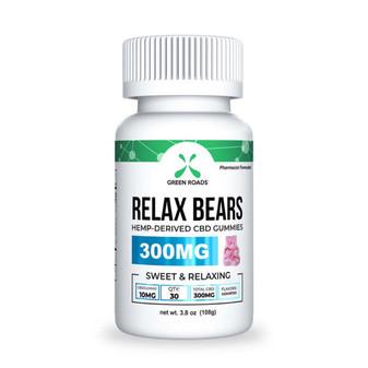 GreenRoads CBD Relax Bears 300mg
