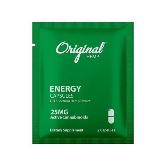 Single Serving CBD Capsule | CBD Energy Capsule