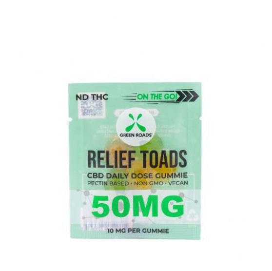 Green Roads Relief Toads 50mg CBD