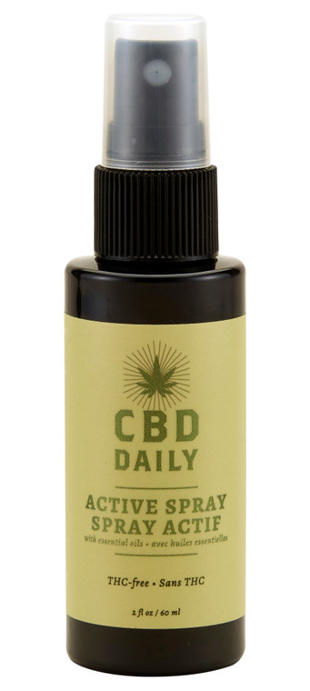 CBD Active Spray   60MG   CBD Daily