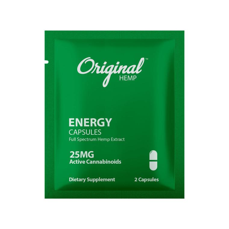 Single Serving CBD Capsule   CBD Energy Capsule