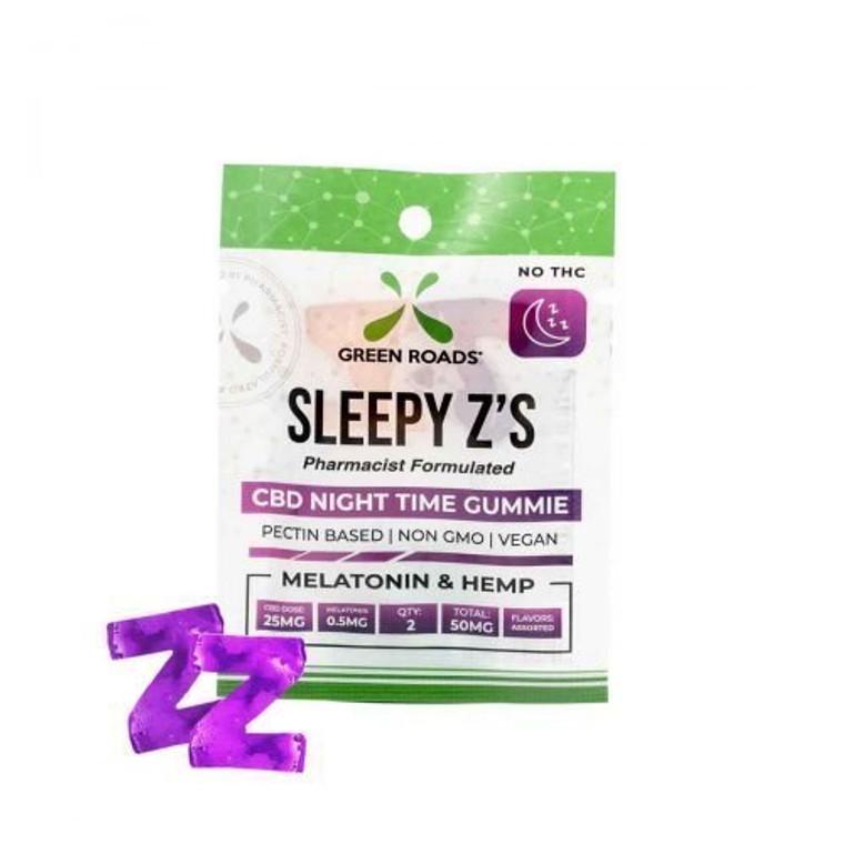 Green Roads World Sleepy Z's CBD Gummies 25mg