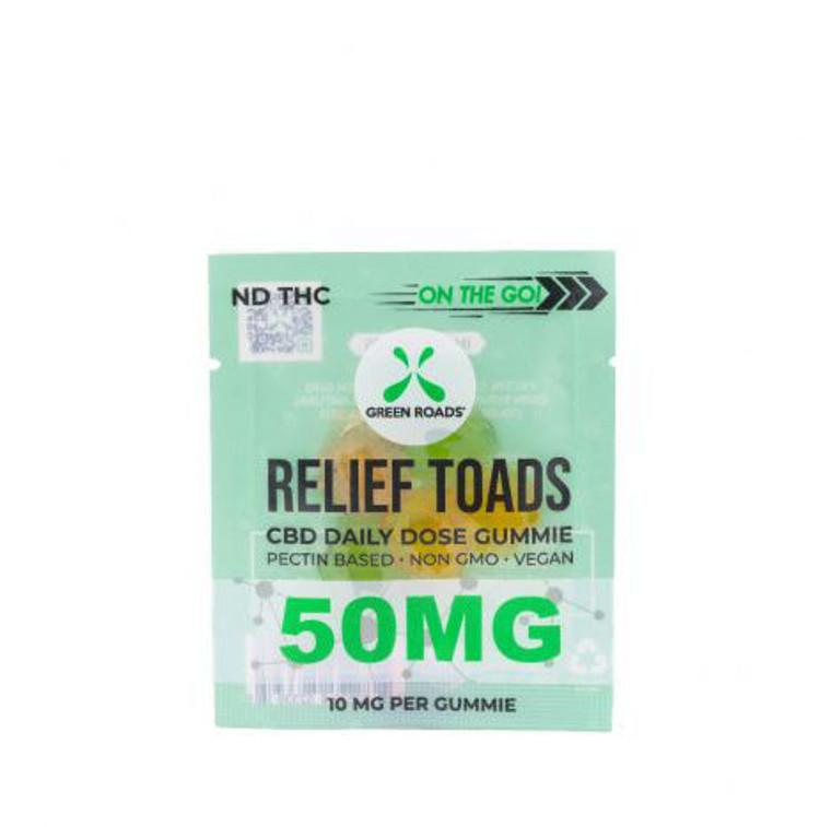 CBD Green Roads Relief Toads 50mg