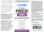 300MG Label | Freeze Roller