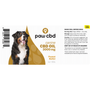 Peanut Butter | Dog Tincture 3000MG Label