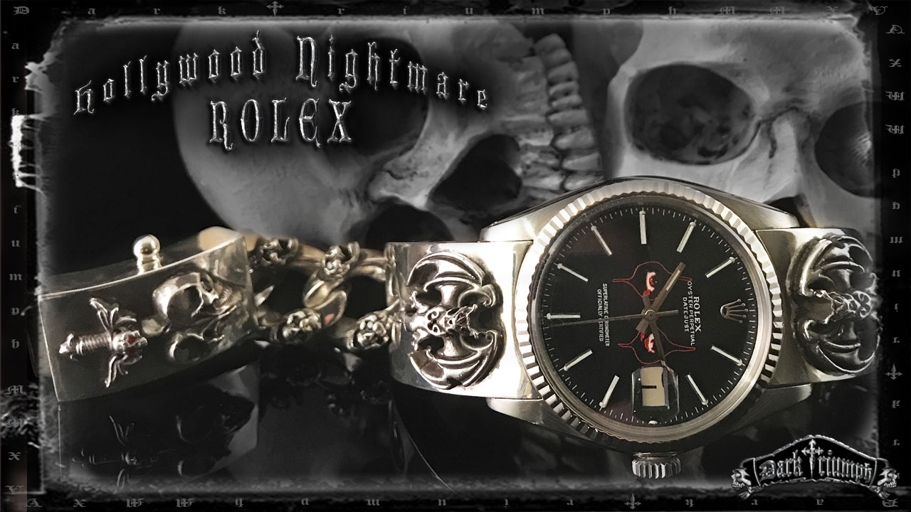 Alice Cooper Custom Rolex Hollywood Vampires