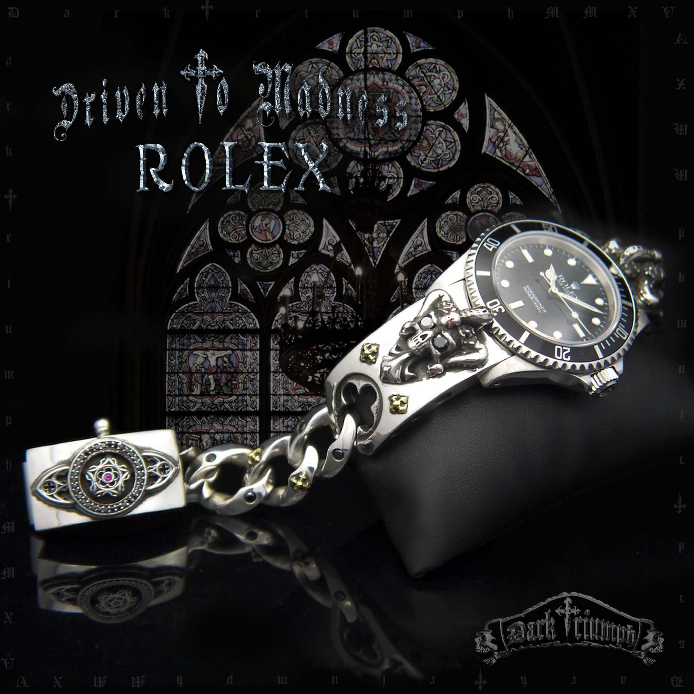 Driven To Madness Rolex Dark Triumph Custom Watch