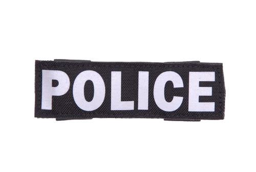Horizontal Police Sign