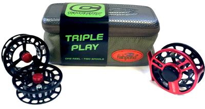 Boost 350 Triple Play Fly Reel/Spool Bundle