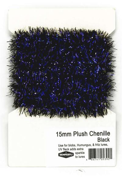 Plush Translucent Chenille - 15mm
