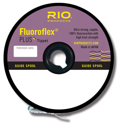 SPOOL fly fishing fluorocarbon NEW RIO FLUOROFLEX PLUS TIPPET 1X 30YD