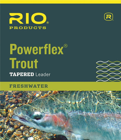Rio Powerflex Trout Tapered Leader - 9'