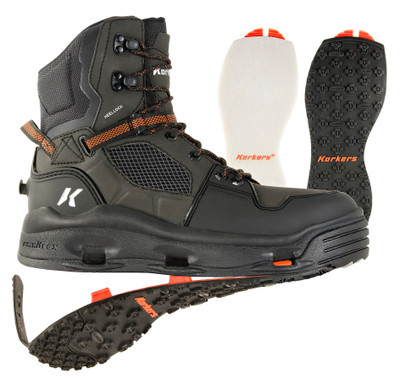 Terror Ridge Fishing Boot w/ Felt & Kling-On Sole