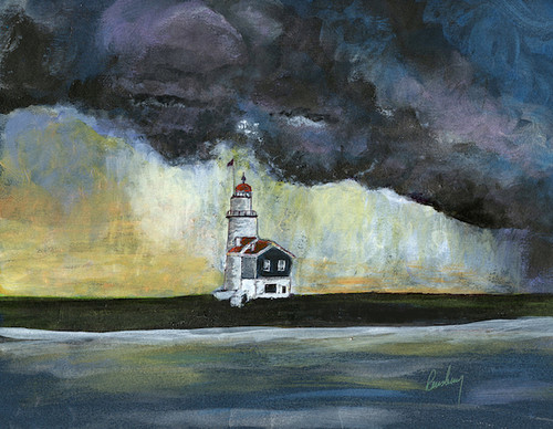 Unknown Lighthouse Art Print