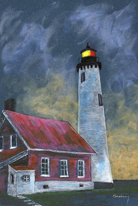 Tawas Point Lighthouse Art Print
