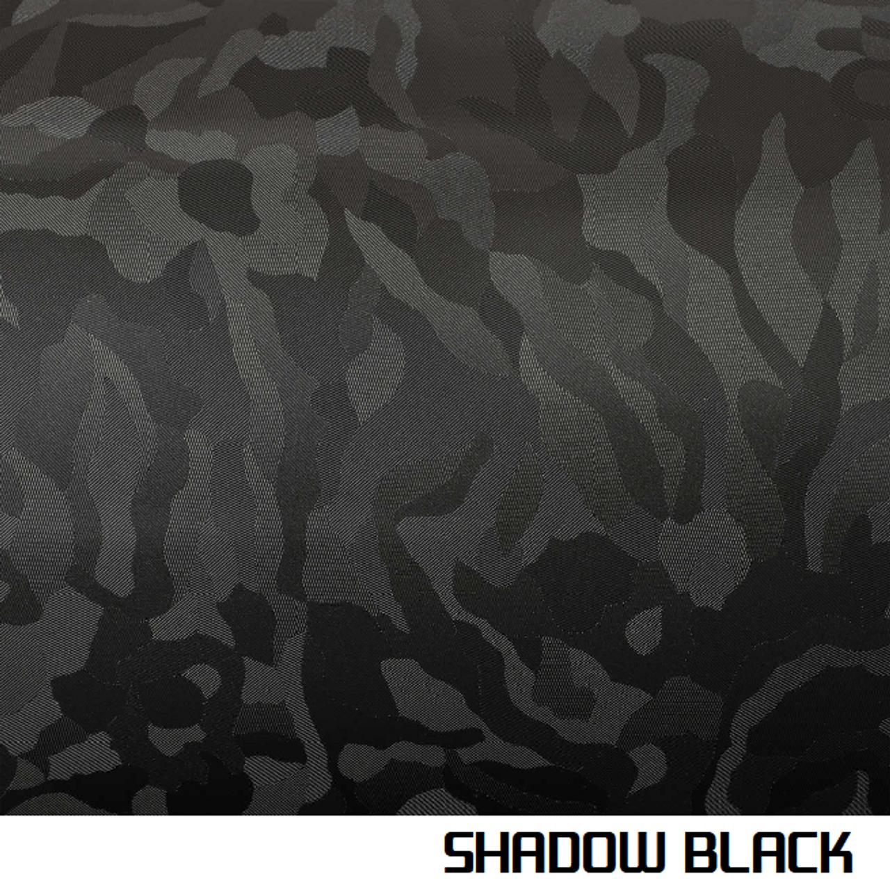 Shadow Black Vinyl Wrap 3d Textured