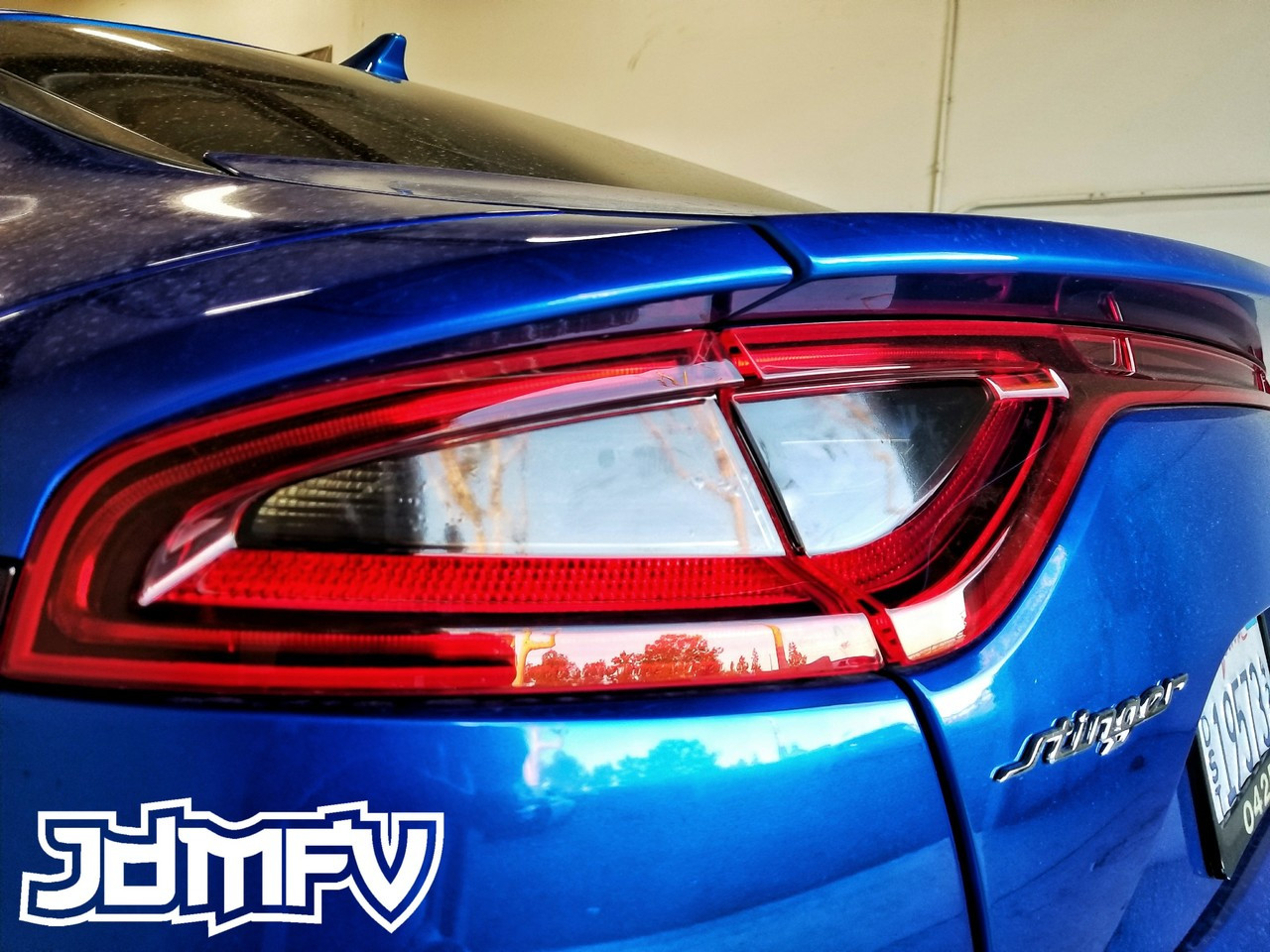 Tail Light Overlays Precut Tint Stinger 2018 Jdmfv