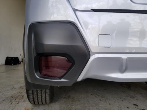 Precut Smoked Rear Reflector Overlays Tint (2018-2021 Crosstrek XV)