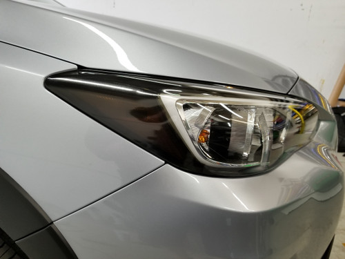 Head Light Amber Delete w/ Eyelids - Dark Smoked Tint (2018-2021 Crosstrek XV / Impreza)