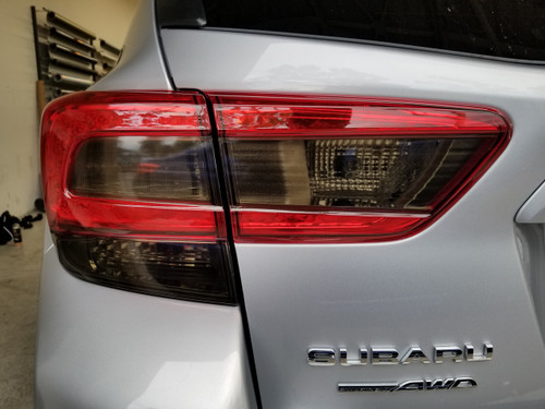 Smoked Tail Light & Turn Signal  Overlays Tint (2018-2021 Crosstrek XV / Impreza)