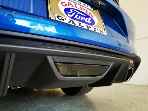 Smoked - Center Reverse Light Overlays (18-20 Mustang)