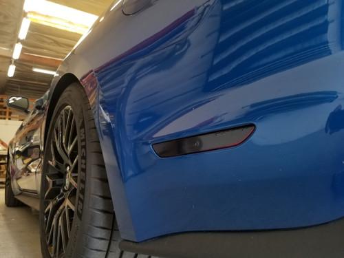 Smoked - Side Reflector Overlays (18-20 Mustang)