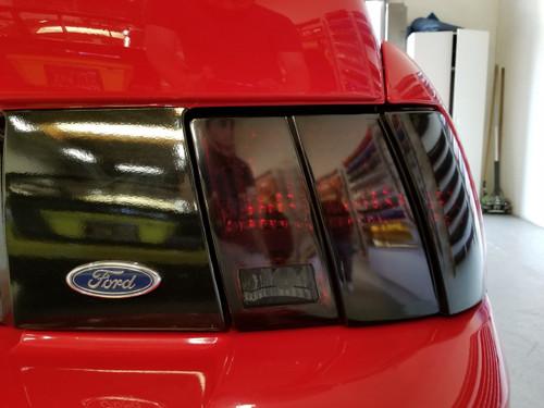 Full Smoked - Tail Light Overlays (99-04 Mustang)