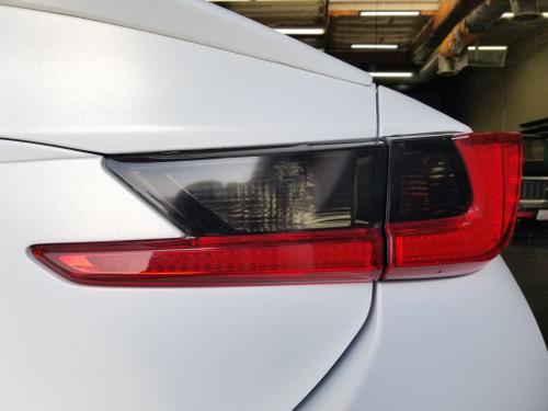 Smoked Tail light Overlays Tint (15-20 Lexus RC/RCF)