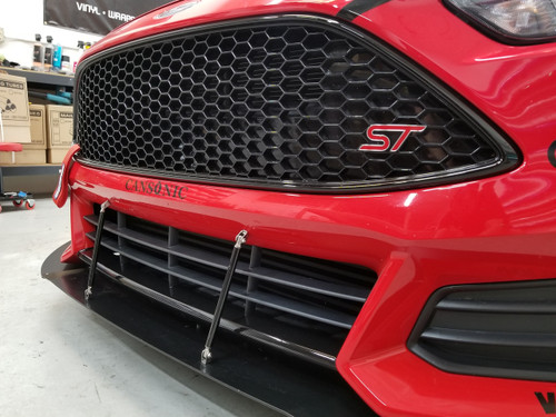 Bumper Lower Lip/Chin  Overlay - RS Style (2015-2018 Focus ST)