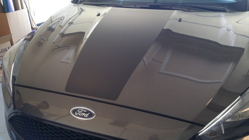 Hood stripe decal kit graphic - Type A (Focus RS/ST)
