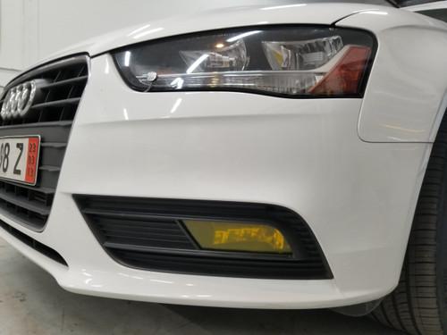 Yellow Fog Light Overlays (13-16 Audi A4/S4)