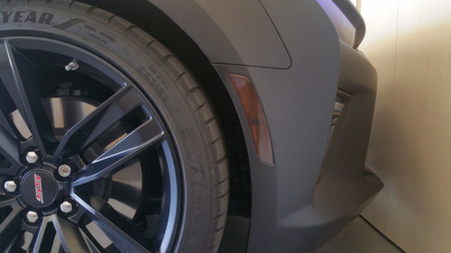 Smoked Front Side Reflector Overlays Right/Left (16-18 Camaro)