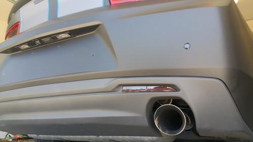 Smoked Rear Bumper Relfector Overlays (16-18 Camaro)