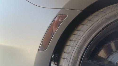 Smoked Rear Side Reflector Overlays Right/Left (16-18 Camaro)