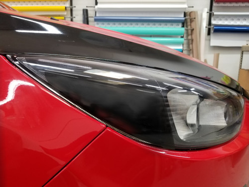 BLACKOUT Amber Delete Head Light Overlays Tint (15-18 Focus RS/ST)