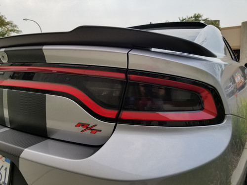 Smoked Tail Light Insert Overlays Tint (15-18 Charger)