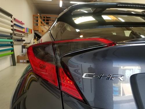 Smoked Tail Light Insert Overlays Tint (18+ CHR)