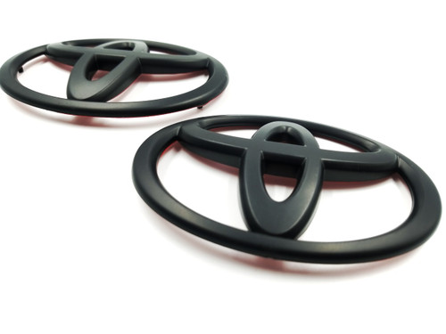 Gloss Black Emblem Replacements Front/Rear - Hyperblue Series