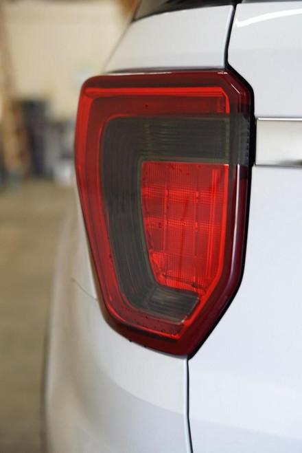 Smoked Tail Light Overlays Tint (16-19 Explorer)