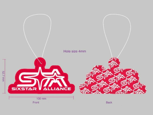 @SixStarAlliance Air Freshener - 2pk