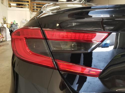Dark Smoked Tail Light Overlays Tint (2018+ Accord Sedan)