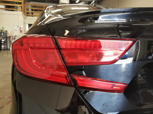 Red out Tail Light Overlays Tint (2018+ Accord Sedan)