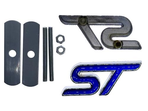 Blue ST Grille Emblem Replacement