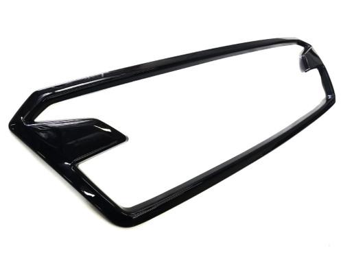 Gloss Black ABS Plastic Grille  Accent Trim Frame (2018-2020 Crosstrek)