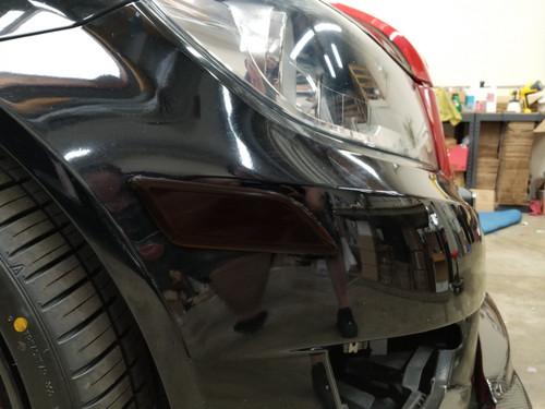 Blackout -  Reflector Overlays Front Bumper(12-14 C-Class)