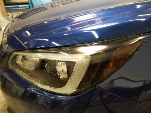Smoked Headlight Amber Delete w/ Eyelids Overlays (2015-2018 Outback)