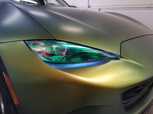 Neo Chrome Head Light Insert Overlays Tint (16-19 MX5)