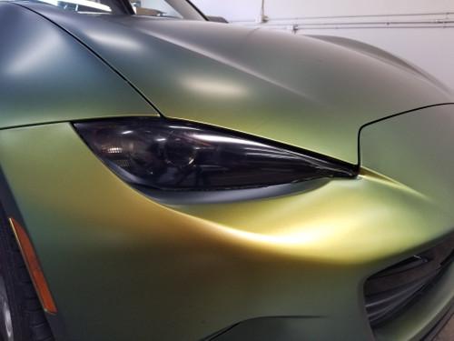 Smoked Head Light Insert Overlays Tint (16-19 MX5)